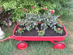 flowers-in-wagon