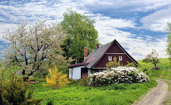 spring garden house